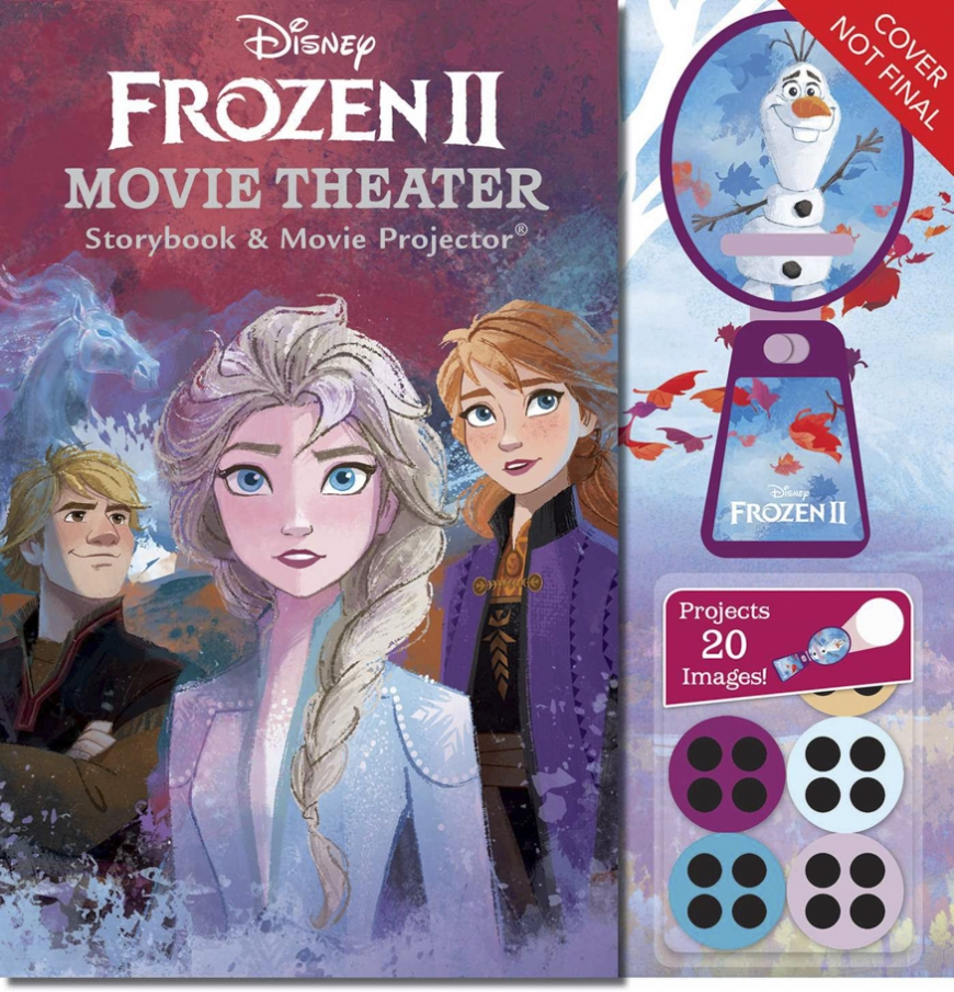 Frozen 2 Movie Theater Storybook and Movie Projector