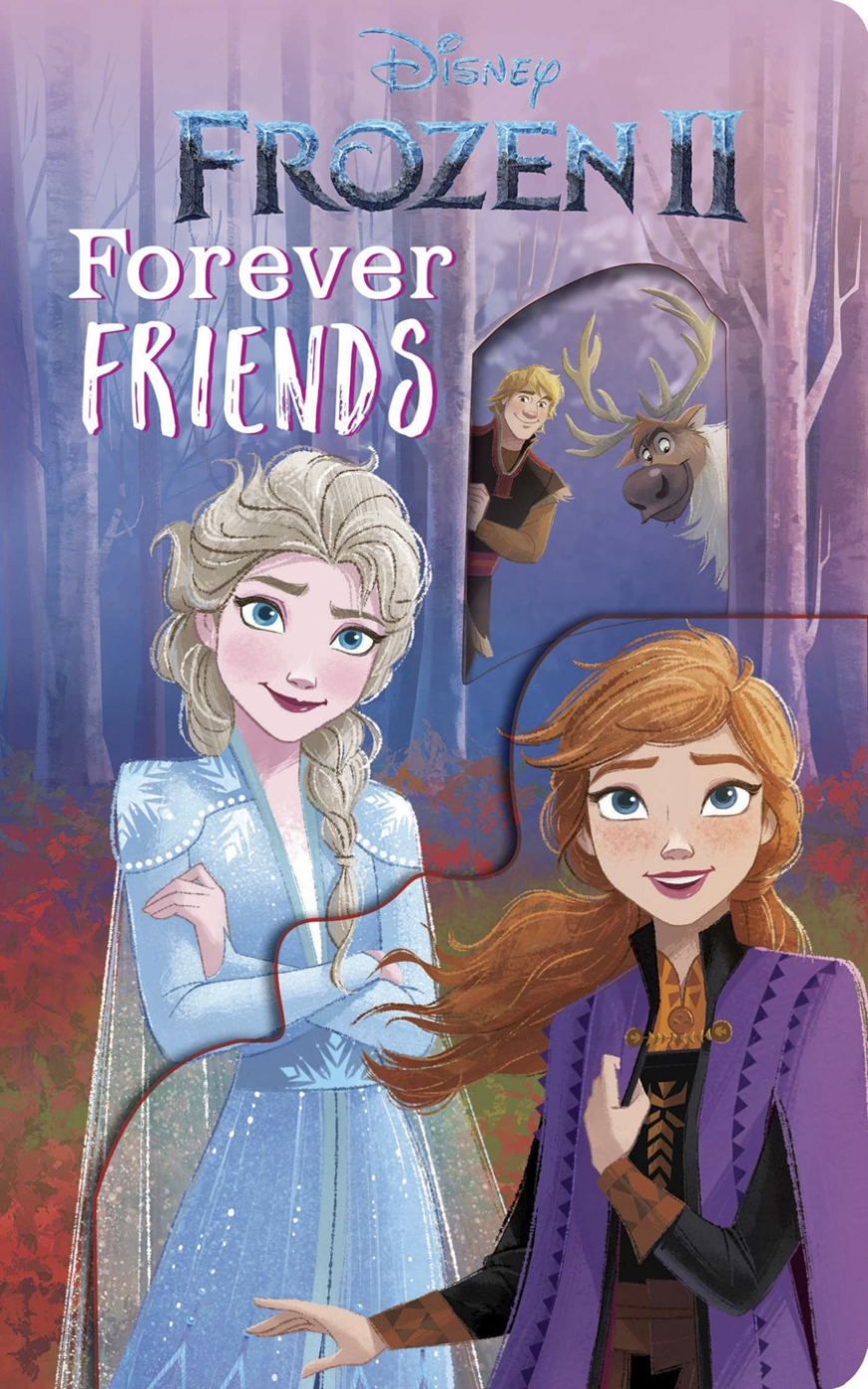 Frozen 2: Forever Friends Deluxe Guess Who book