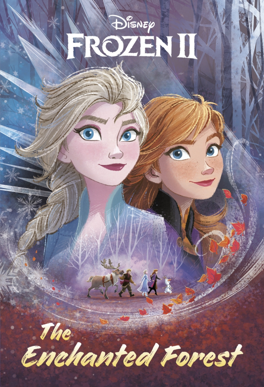 Frozen 2: The Enchanted Forest book