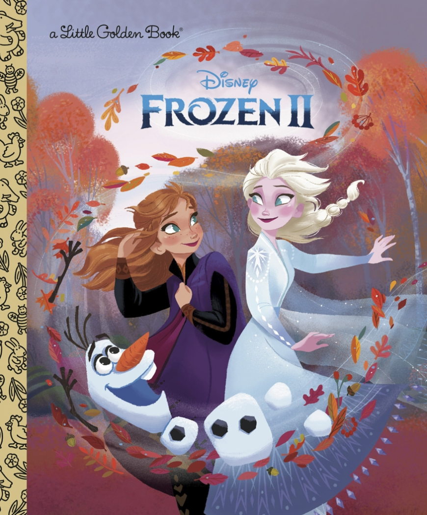 Frozen 2 Little Golden Book