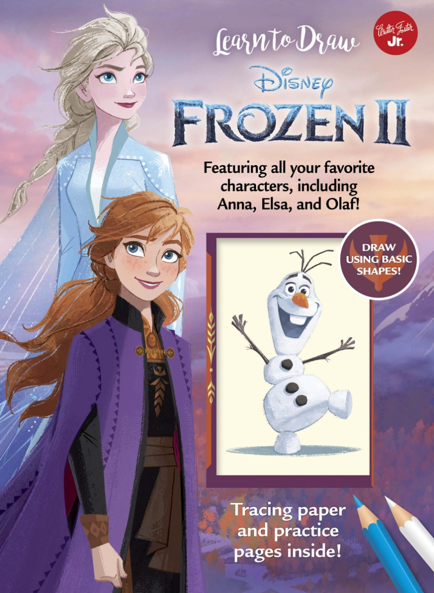 Learn to Draw Disney Frozen 2