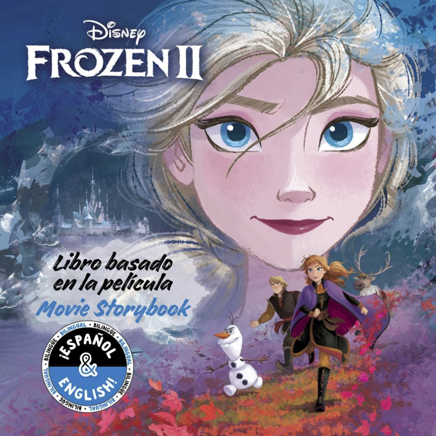Disney Frozen 2: Movie Storybook / Libro basado en la película
