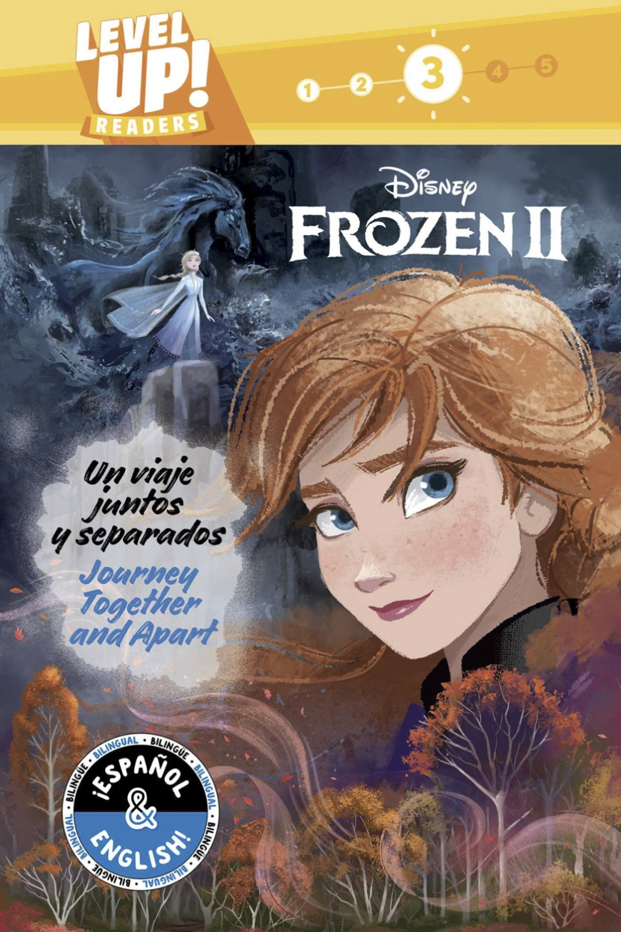 Journey Together and Apart / Un viaje juntos y separados Frozen 2 book