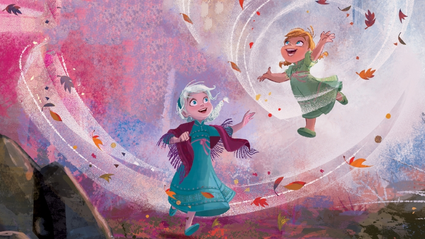 Frozen 2 Kids Elsa and Anna