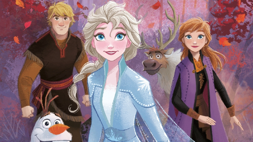 Frozen 2 background image HD