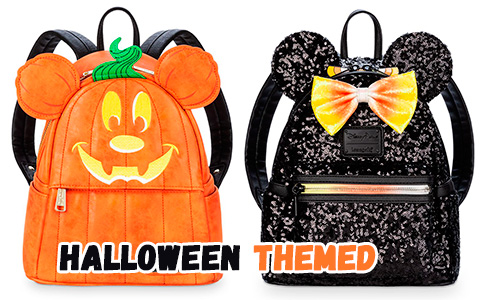 New Halloween themed Disney backpacks and bags by Loungefly