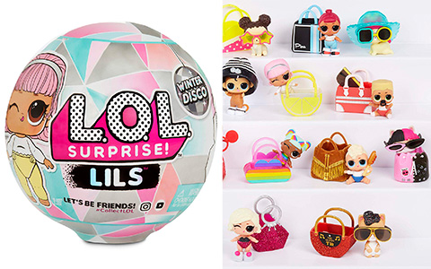 LOL Surprise Winter Disco series Lils Sisters and Lil Pets is out, and we have link where to get it