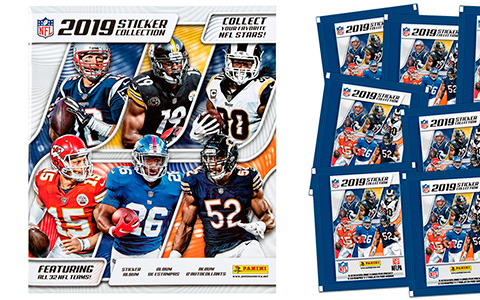 New Panini NFL 2019 Sticker Collection