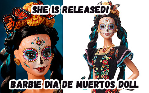 Barbie Dia De Muertos doll is released and you can get it!