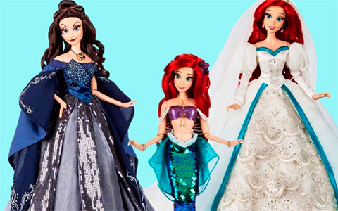 List of the upcoming new Disney Limited Edition dolls in November and December 2019