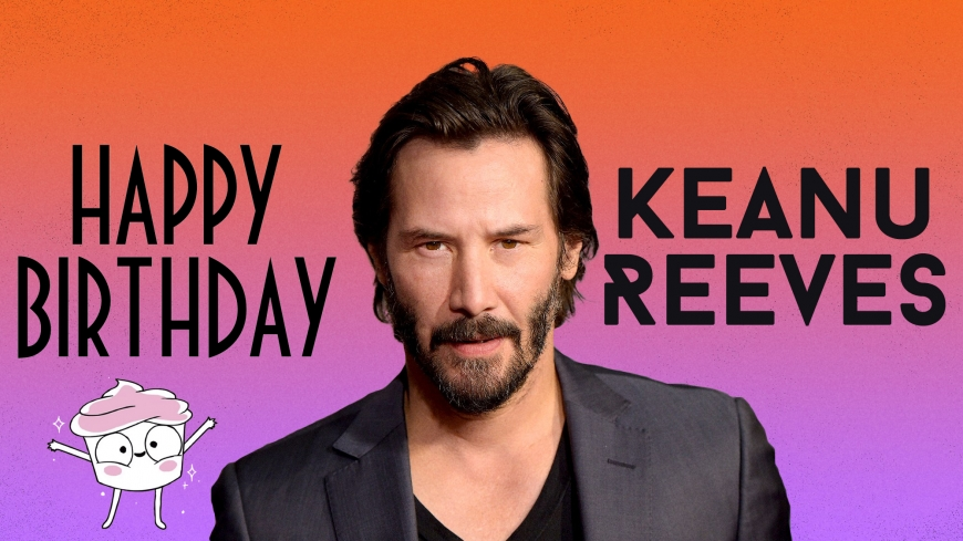 Happy Birthday Keanu Reeves images