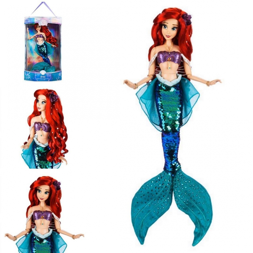 30TH Anniversary Limited Edition Mermaid Ariel doll