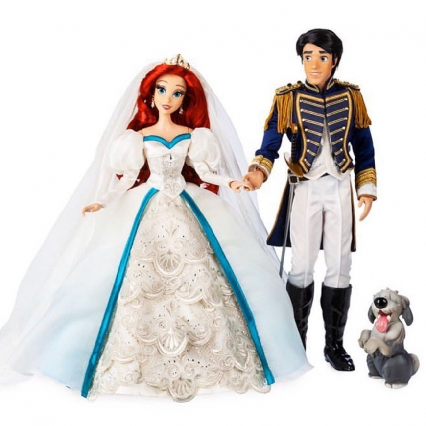 First  images of new 30TH Anniversary Little Mermaid Limited Edition dolls