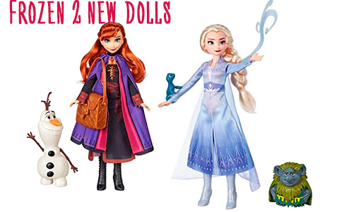 Lots of new Frozen 2 dolls from Hasbro