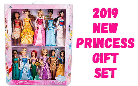 New 2019 Disney Princess Gift Set with 11 dolls