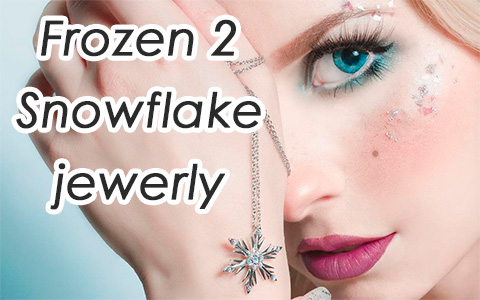 Frozen 2 jewerly: RockLove Crystal Snowflake Ring and Necklace