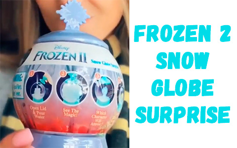 Basic Fun Frozen 2 Snow Globe Surprise