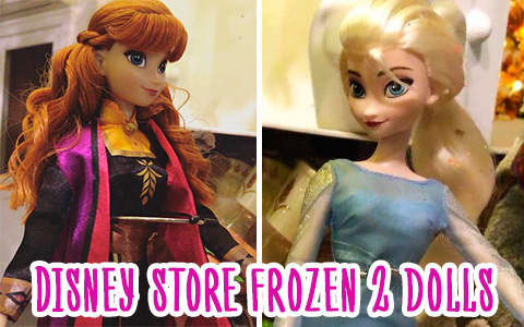 More Frozen 2 Disney Store dolls