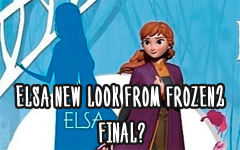 Master Craft teases Elsa's new look from Frozen 2 final?