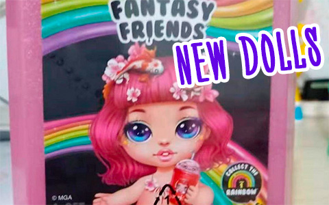 Poopsie Rainbow Surprise Fantasy Friends - new Mermaid poosie dolls and more in new doll collection!