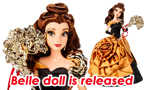 Belle Disney Midnight Masquerade Designer doll is out, and you can get it!