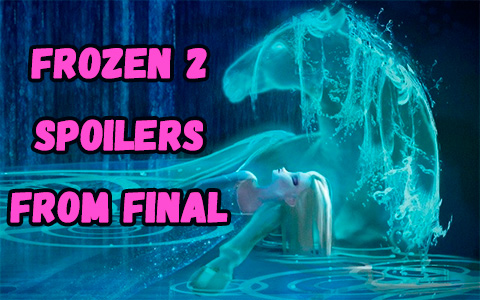 Another HUGE spoiler about the Frozen 2 movie finale, from official art book