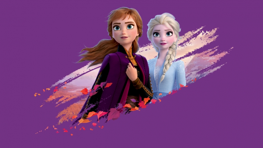 Elsa and Anna Frozen II