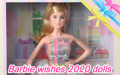 New Barbie Birthday Wishes 2020 and Ballerina Wishes 2020 dolls