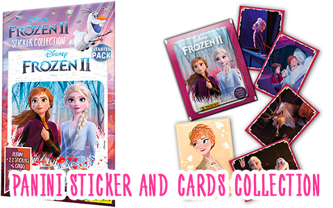Disney Frozen 2 movie 2019 sticker album. New Frozen II sticker and cards collection!