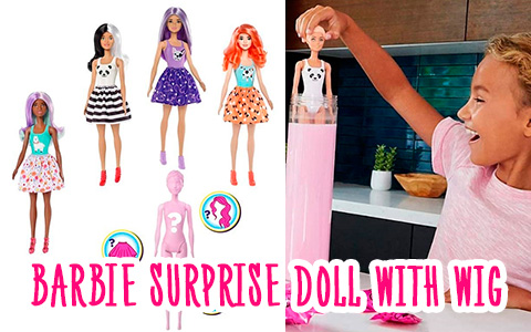 Barbie Color Reveal - new surprise doll with wig for 2020