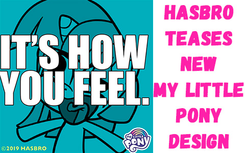 Hasbro teases new My Little Pony design