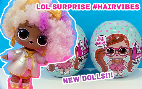 New LOL Surprise HairVibes already released, you can get them now!