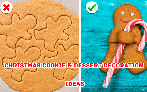Easy Christmas Cookie & Dessert decoration ideas