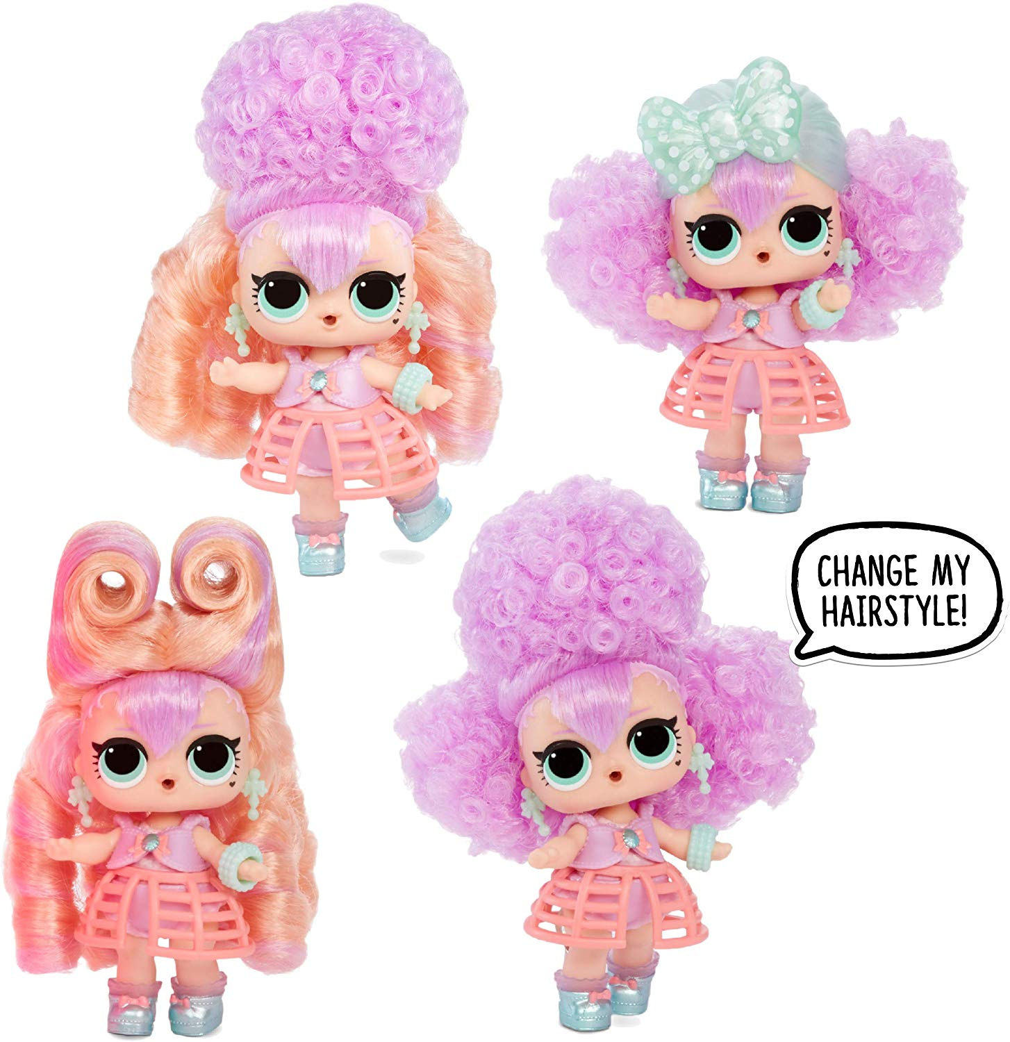 New L.O.L. Surprise! #Hairvibes Dolls with 15 Surprises ...
