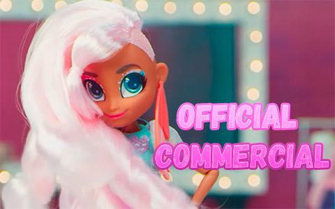 New Hairdorables big fashion dolls Hairmazing official commercial video and song