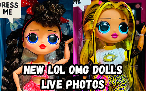 First live photos of new LOL OMG series 2 dolls: Candylicious, Busy B.B. and Alt Grrrl