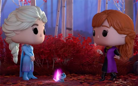 Frozen 2 with Funko toys Trailer