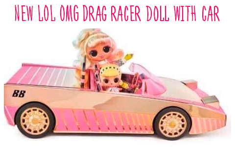 It's just WOW! - New LOL OMG Lights Speedster doll promoting new Drag Racer  car