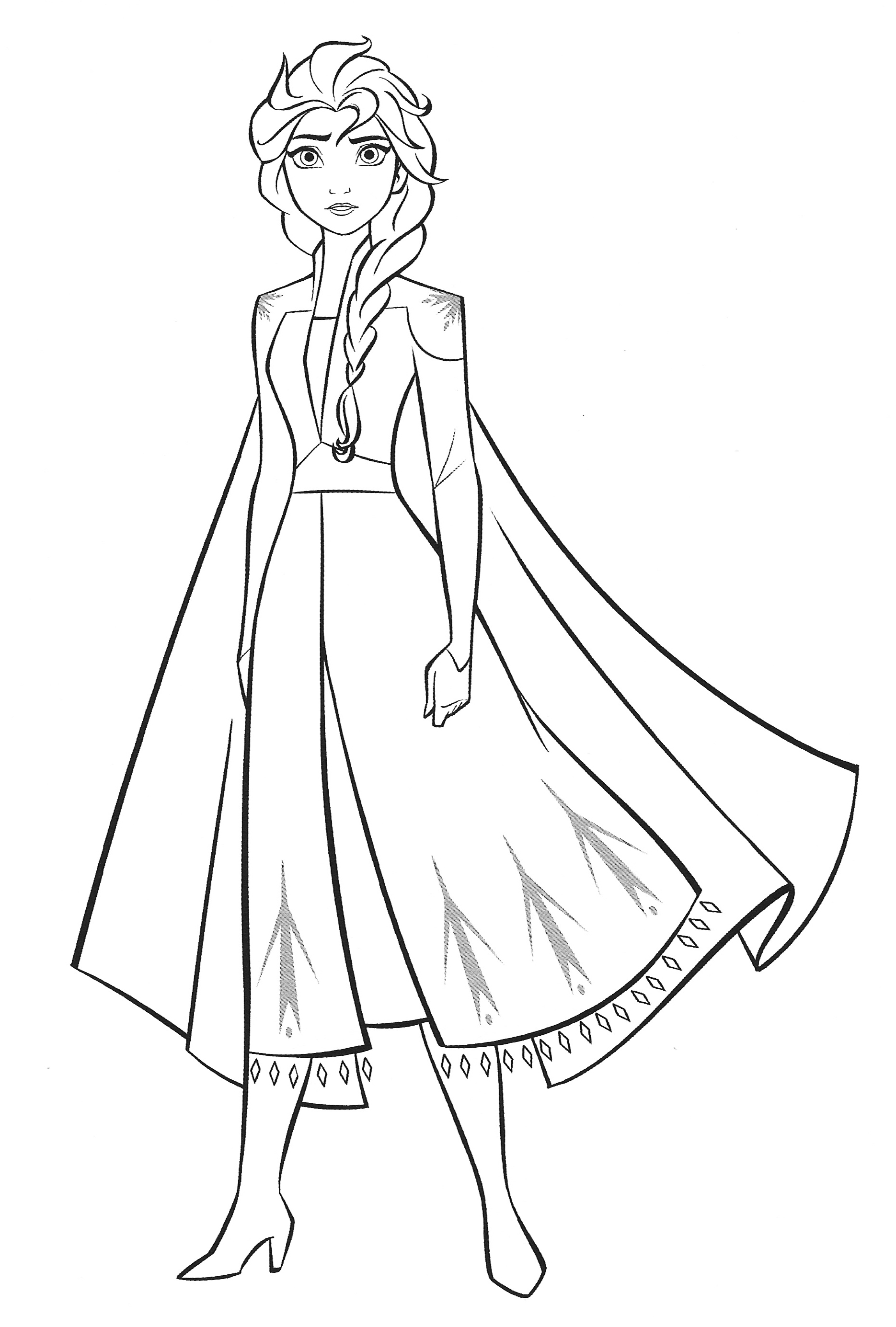 New Frozen 18 coloring pages with Elsa   YouLoveIt.com