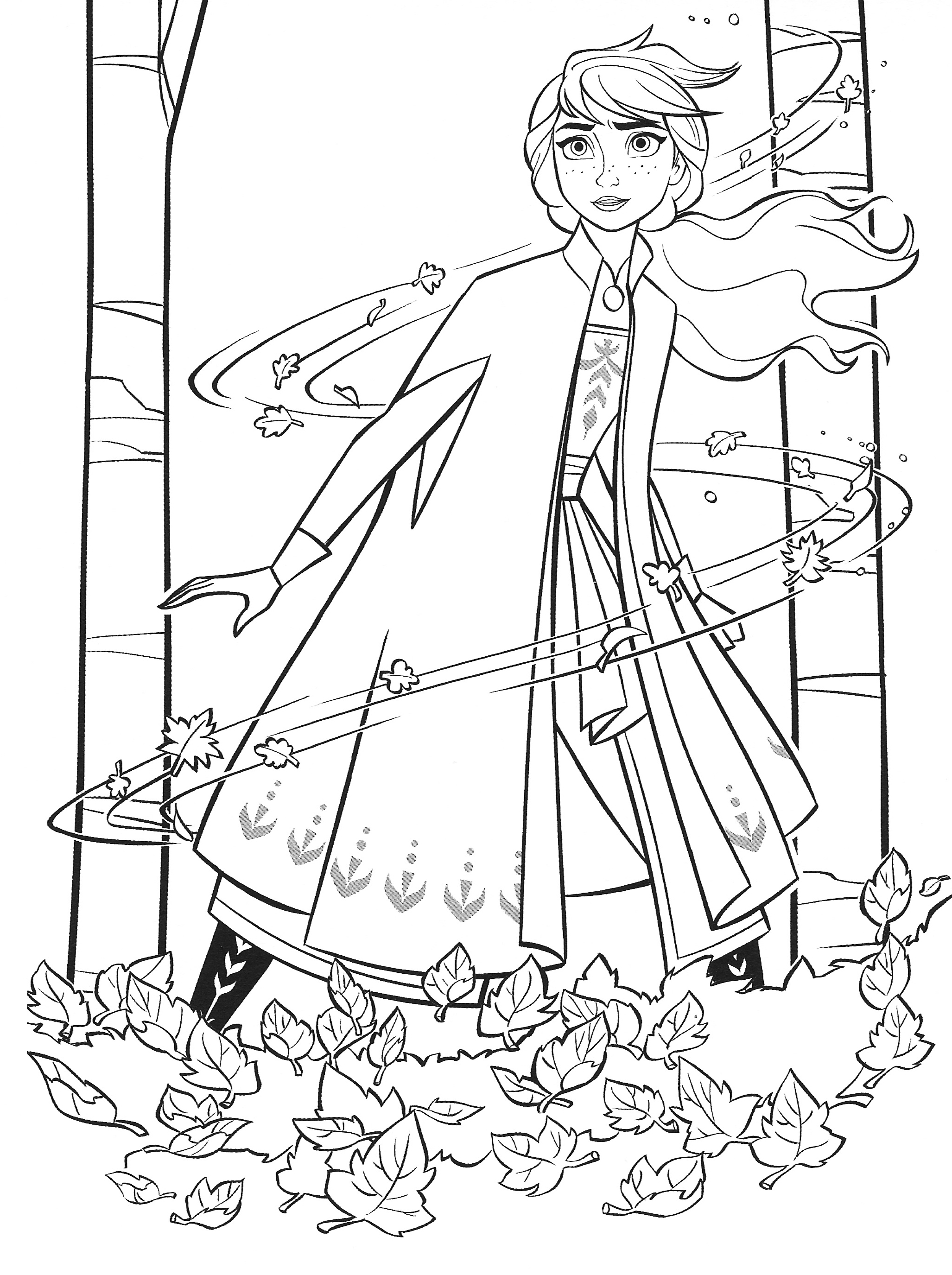 New Frozen 2 Coloring Pages With Anna Youloveit Com