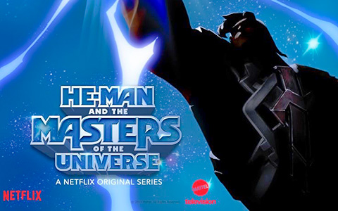 2 promo posters for the upcoming Netflix He-Man and the Masters of the Universe series