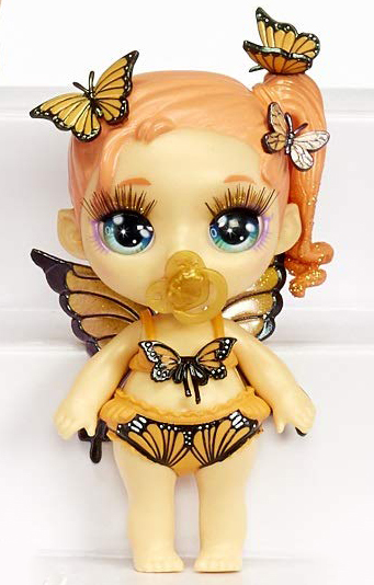 Poopsie Rainbow Fantasy Friends doll butterfly