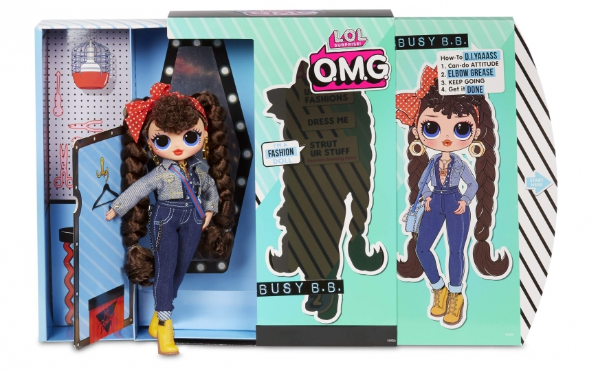 You can get LOL OMG series 2 Busy B.B. doll here: