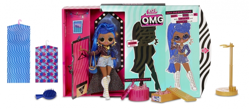 LOL OMG series 2 Miss Independent doll
