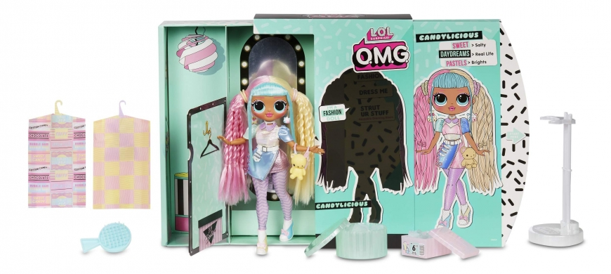 You can get LOL OMG series 2 Candylicious doll here