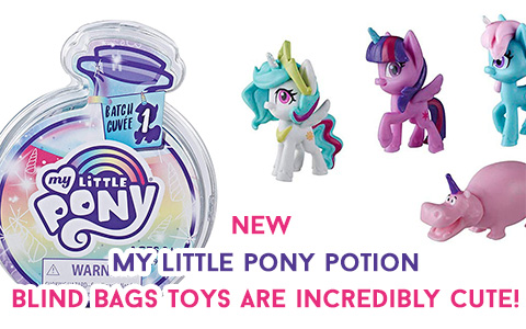 24 to collect: Hasbro reveal the magic of friendship with brand new for 2020 My Little Pony Magical Potion Surprise Blind Bags with water-reveal unboxing experience