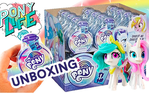 My Little Pony Potion Surprise Blind Bag Batch 1 unboxing video. Real images of new My Little Pony 2020 toys!
