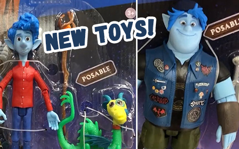 First look at Pixar Onward toys from Mattel: Posable figures, plushes, collectible minis and more