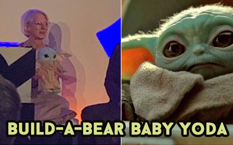 Build-A-Bear will bring Baby Yoda toy  to the masses in the next few months