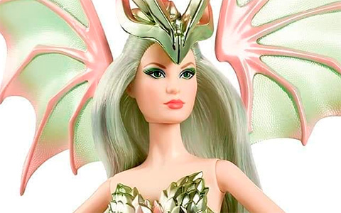 Barbie Dragon Empress doll 2020 Babie Collector release